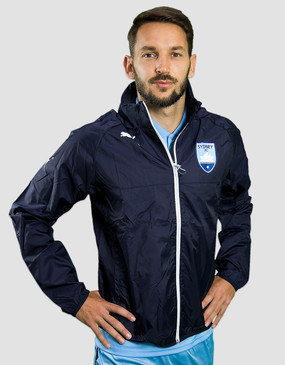 Sydney FC 17/18 Puma Youths Club Rain Jacket
