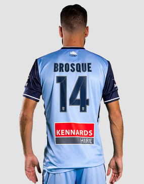 Sydney FC 17/18 Puma Adults Home Jersey - Customised