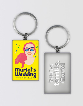Muriel's Wedding Keyring