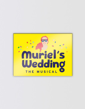 Muriel's Wedding Magnet - Logo