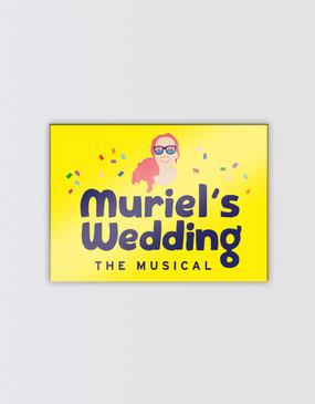 Muriel's Wedding Magnet - Logo