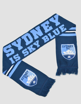 Sydney FC 17/18 Sydney Is Sky Blue Scarf