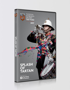 The Royal Edinburgh Military Tattoo 'Splash of Tartan' 2017 DVD
