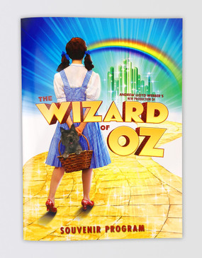The Wizard of Oz Souvenir Program