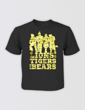 "The Wizard of Oz Kids ""Lions Tigers and Bears"" T-Shirt"