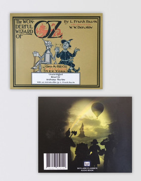 The Wizard of Oz Audio Book CD (read by Anthony Warlow)