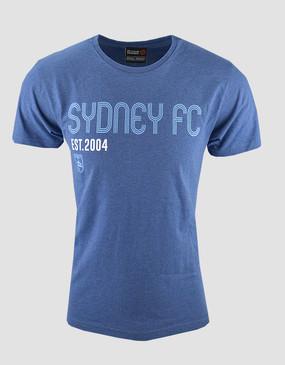 Sydney FC 17/18 Adults Navy Est 2004 Tee