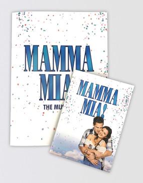 Mamma Mia! Souvenir Program