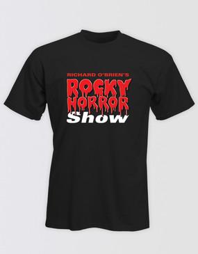Rocky Horror Show Unisex Black Logo Tee