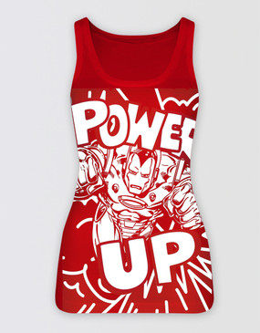 Marvel's Avengers - Ladies Iron Man Singlet