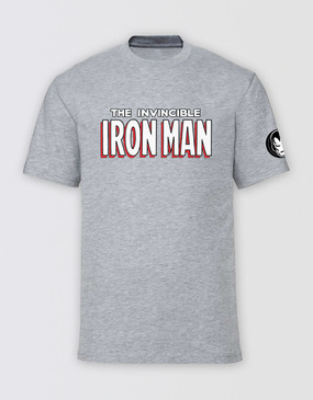 Marvel's Avengers - Adults Invincible Iron Man T-Shirt