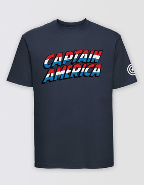 Marvel's Avengers - Adults Captain America Logo T-Shirt