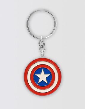 Marvel's Avengers - Captain America Symbol Keyring