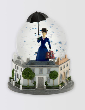 Mary Poppins Musical Snowglobe