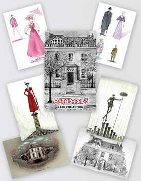Mary Poppins Set Of Cards