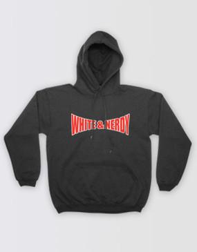 Weird Al White & Nerdy Black Hoodie