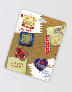 High School Musical Set of 4 Pins