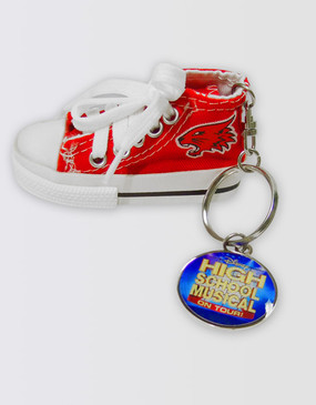 High School Musical Sneaker Keyring