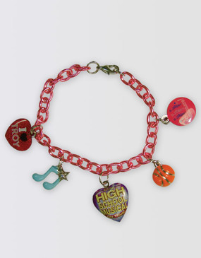 High School Musical Charm Bracelet with Pouch