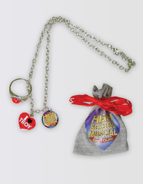 High School Musical Charm Necklace with Pouch