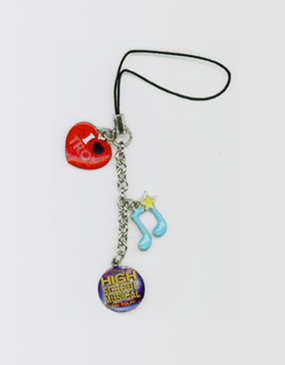 High School Musical Phone Charm