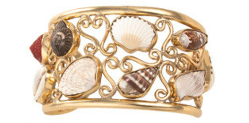 """Beach Girl"" Alchemia Multi-Shell Cuff"