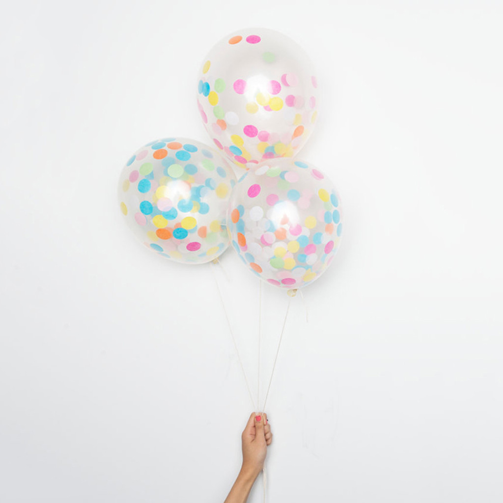 DIY Confetti Balloons, Assorted