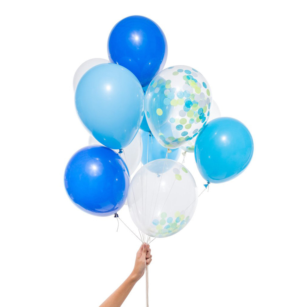 Blue Party Balloons