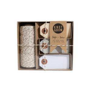 Tag + Twine Box, Copper Neutral