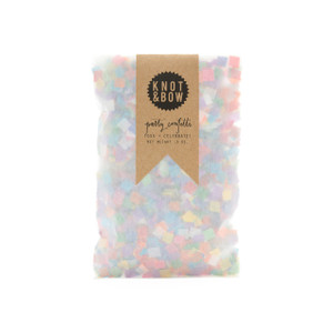 Party Confetti Bag, Tiny Rainbow
