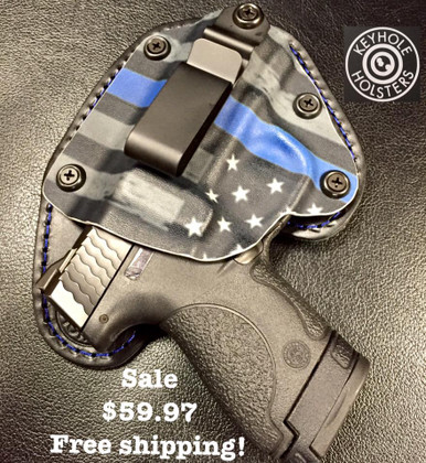 Thin Blue Line holster