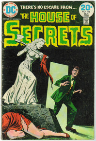 House of Secrets #115 VG Front Cover