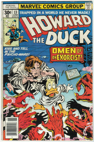 Howard the Duck #13 VG Front Cover