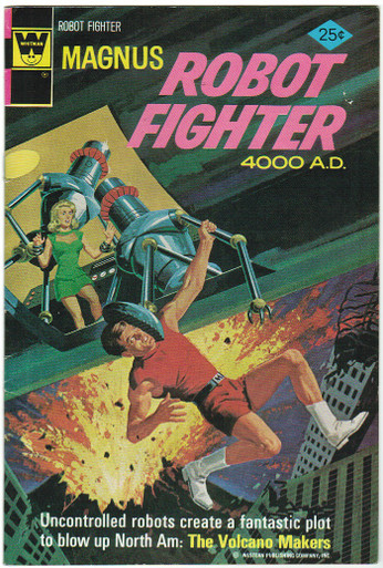Magnus Robot Fighter #38 VF Front Cover