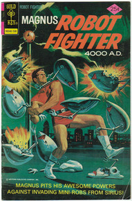 Magnus Robot Fighter #40 FN Front Cover