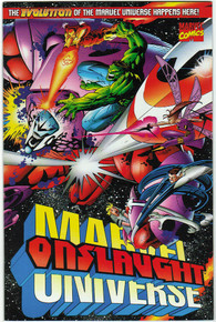 Onslaught: Marvel Universe #1 NM Front Cover