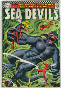 Sea Devils #35 GD Front Cover
