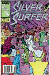 Silver Surfer vol. 3 #4 VF Front Cover