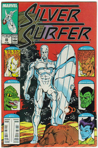 Silver Surfer vol. 3 #20 VF Front Cover