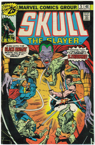 Skull the Slayer #5 VF Front Cover