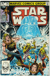 Star Wars #74 FN Front Cover