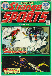 Strange Sports Stories #5 FN Front Cover