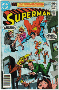 Superman #350 FN Front Cover