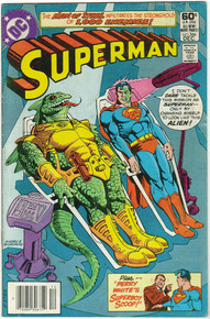 Superman #366 FN Front Cover