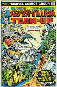 Super Villain Team Up #4 VF Front Cover