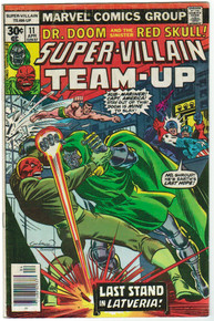 Super Villain Team Up #11 FN Front Cover