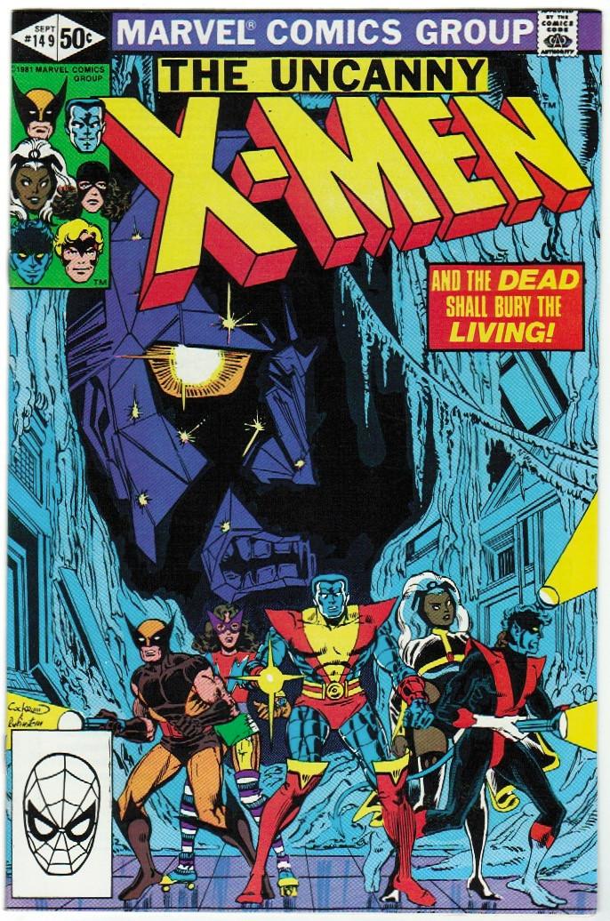 uncanny x men 149 vf hall of justice comics collectibles. Black Bedroom Furniture Sets. Home Design Ideas