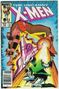 Uncanny X-Men #194 VG Front Cover