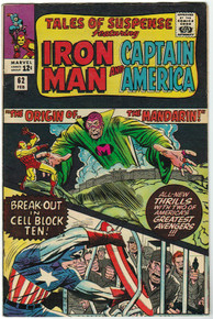 Tales of Suspense #62 VF Front Cover