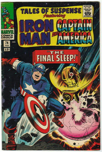 Tales of Suspense #74 FN Front Cover